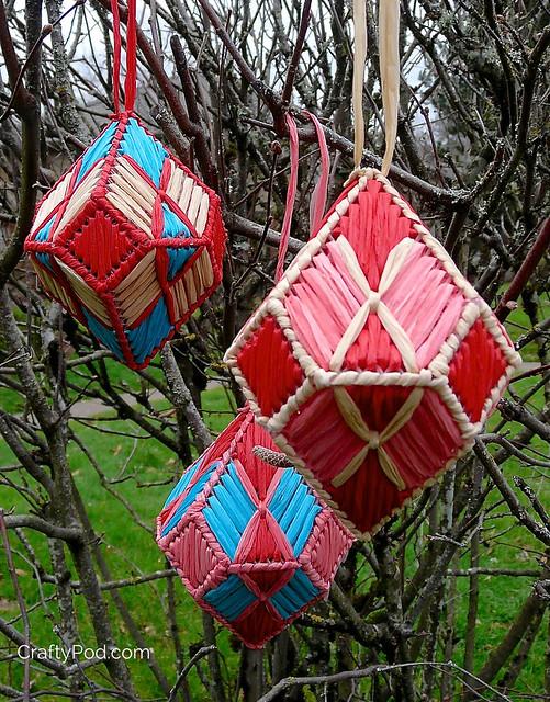 Plastic Canvas Gm Ornament