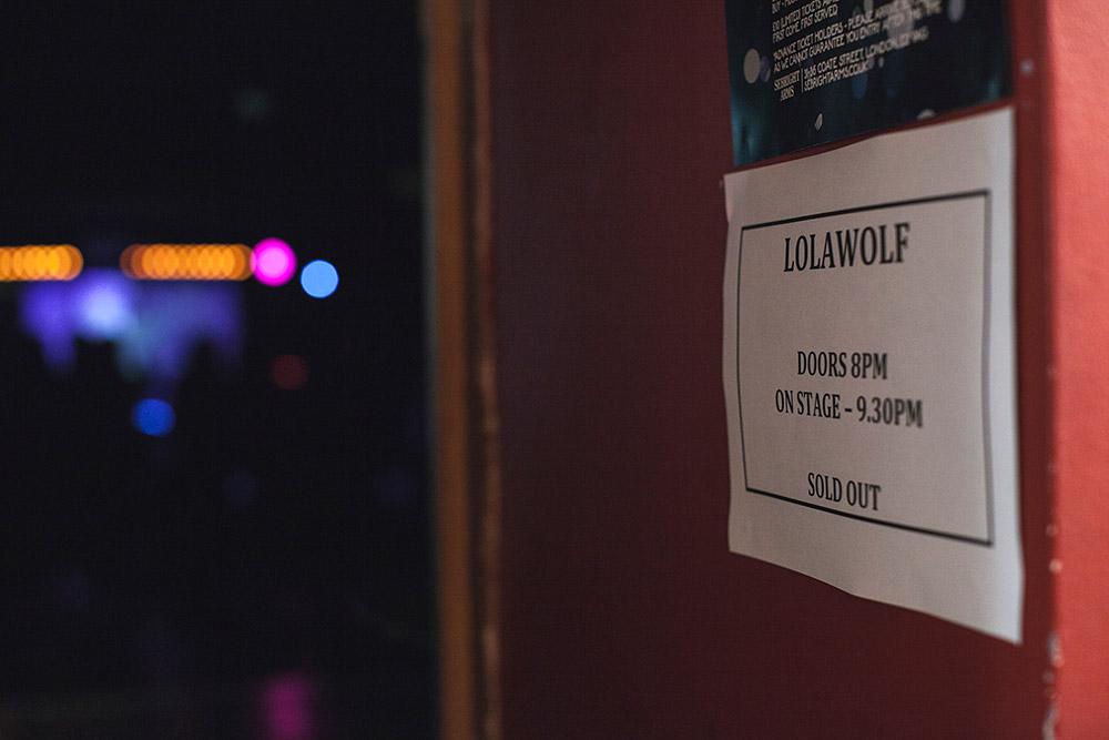 BTS: Lolawolf @ Sebright