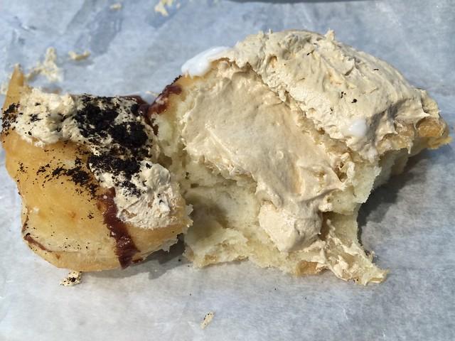 Mocha creme doughnut - Beiler's Bakery