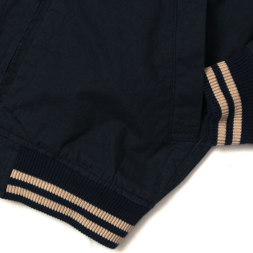 Wallace & Barnes / Baseball Bomber Jacket in Japanese Cotton