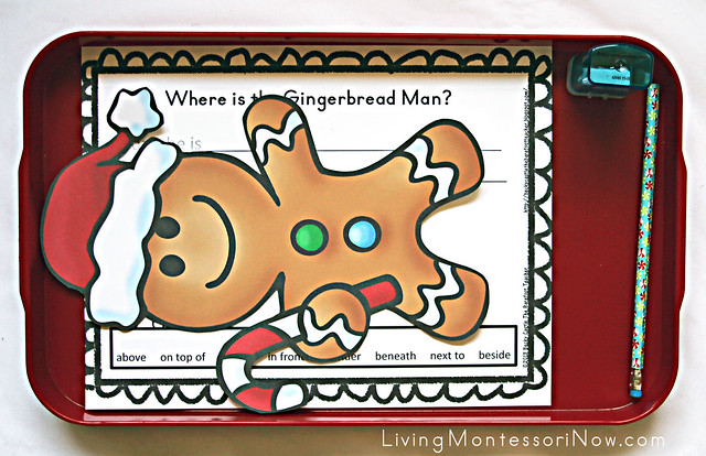 Where Is the Gingerbread Man Activity