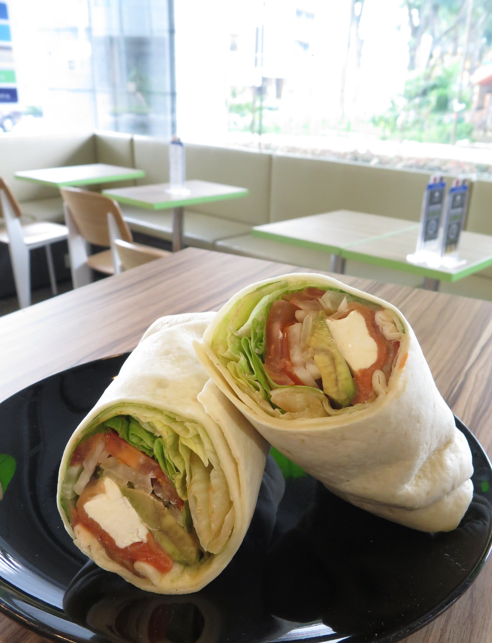 Smoked Salmon & Avocado Wrap