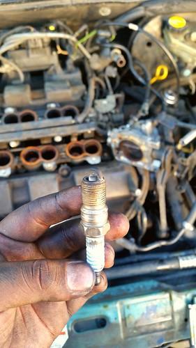 #sparkplug #automotive #cars #tuneup #maintenance #ignition #mechanic #technician