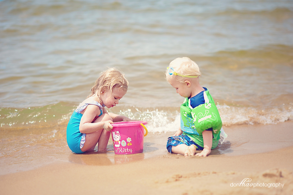 West Michigan Beach Family Photography