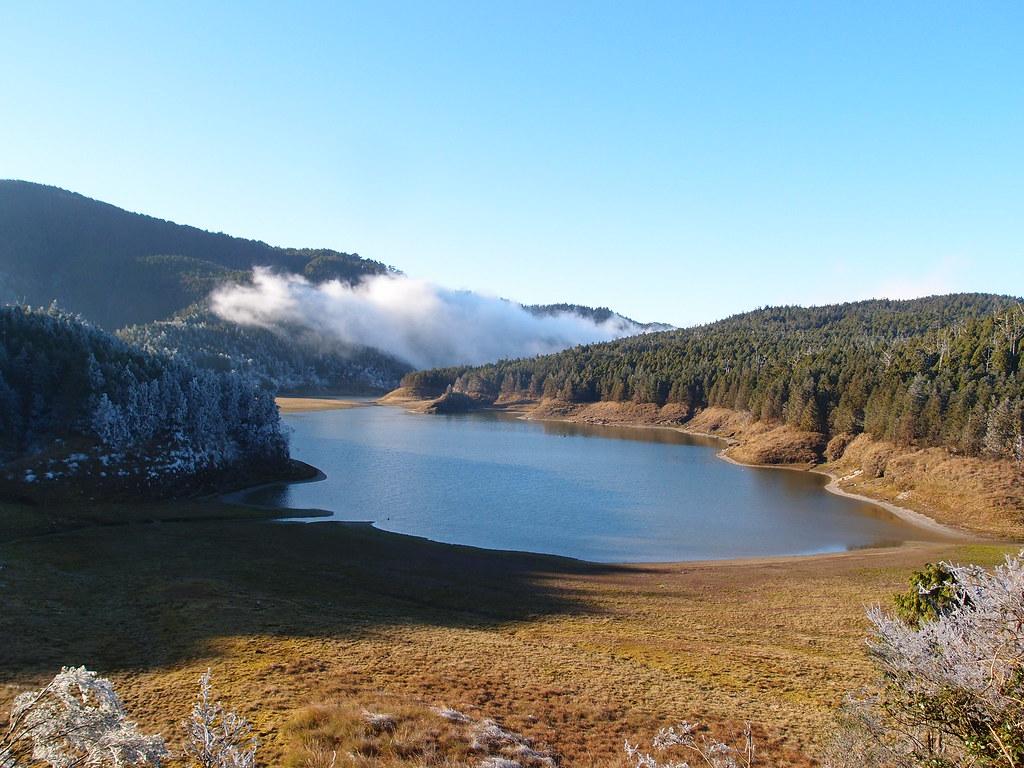 太平山翠峰湖冬景;攝影:詹嘉紋
