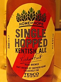 Shepherd Neame (Tesco), Single Hop Kentish Ale, England