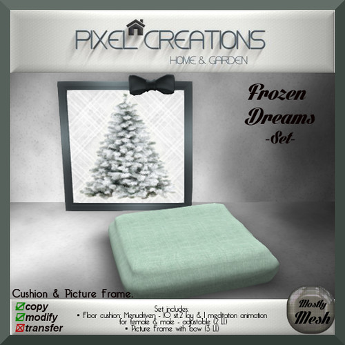 [PC] PIXEL CREATIONS - FROZEN DREAMS SET