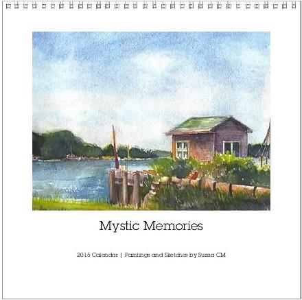 Mystic Memories calendar