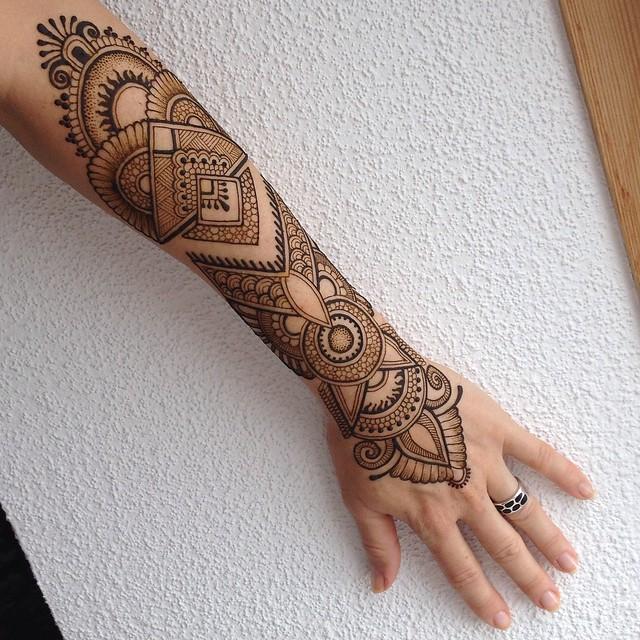 Henna Tattoo Gold Coast : Henna artist brisbane makedes