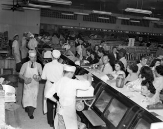 Meat department of Lovett's Supermarket - Jacksonville