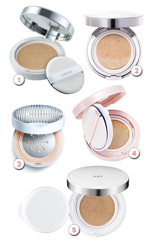 stylelab beauty blog trend cushion foundations korea
