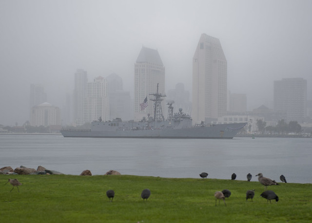 USS Vandegrift Returns from Deployment