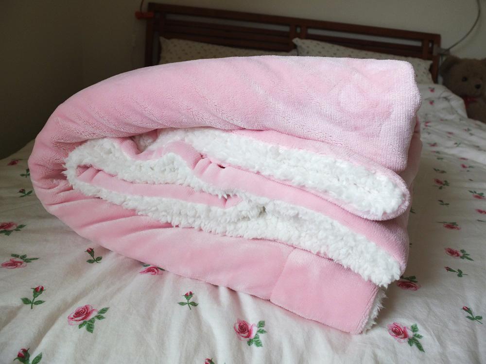 Costco 羊毛毯 (1)