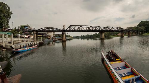 thailand kanchanaburi kwairiverbridge changwatkanchanaburi tambonbantai