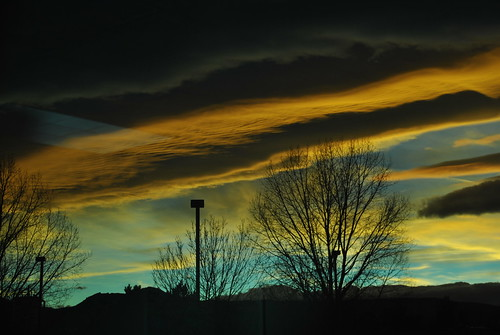sunset cloud clouds colorado boulder co lenticular