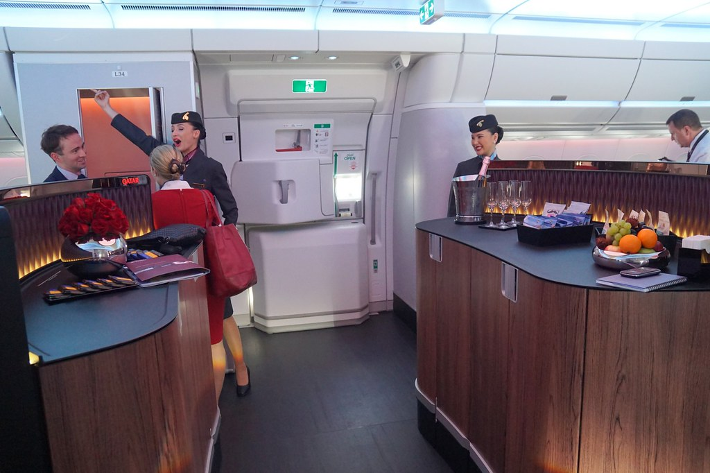 Qatar Airways  Launch of the Airbus A350XWB -013