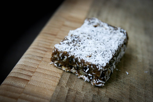 Homemade Raw Bars with Agen Prunes