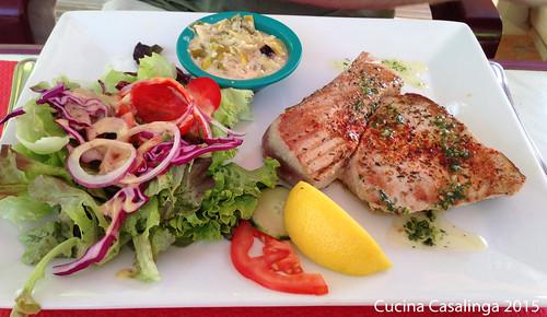 Canal du Midi Essen Fisch