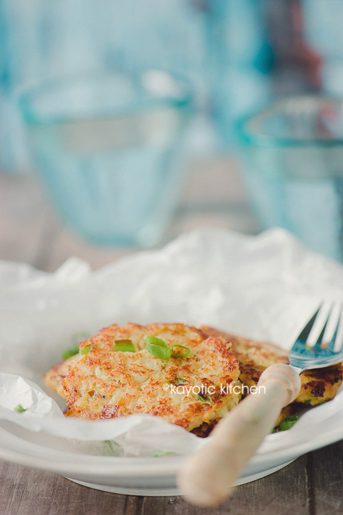 Cauliflower Patties