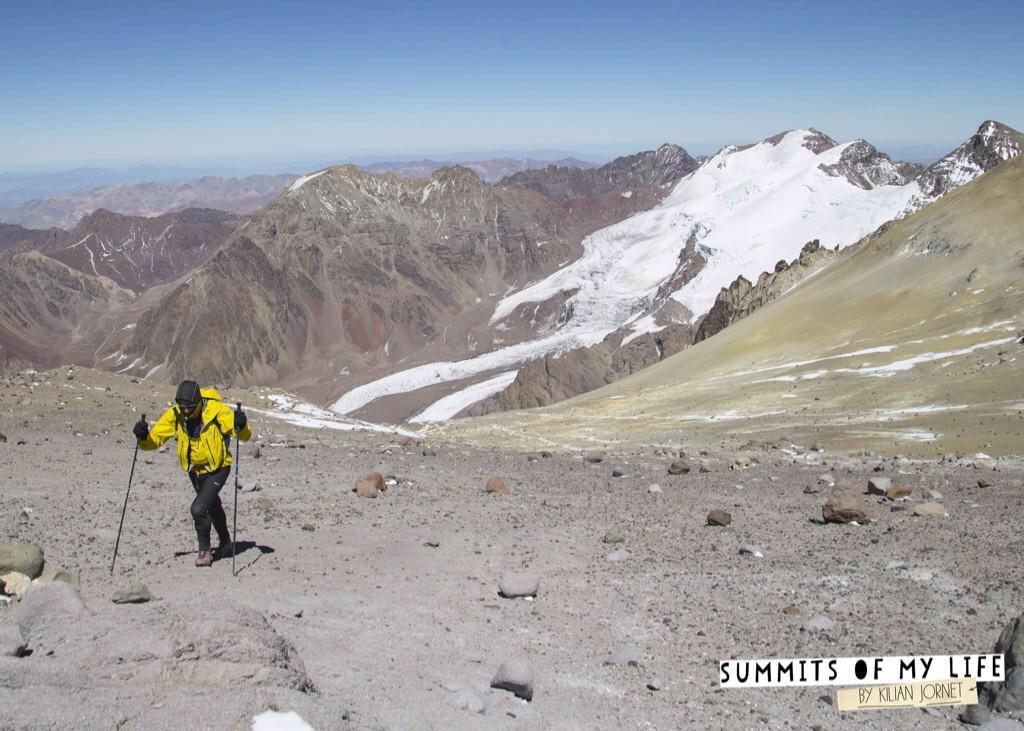 Στον δρόμο προς την κορυφή του Aconcagua (6.962m)