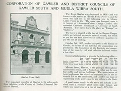 Gawler, Gawler South and Mudla Wirra South - Civic Record SA Councils 1921 - 1923 (1)