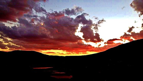 africa lesotho mountainkingdom cloudsstormssunsetsandsunrises