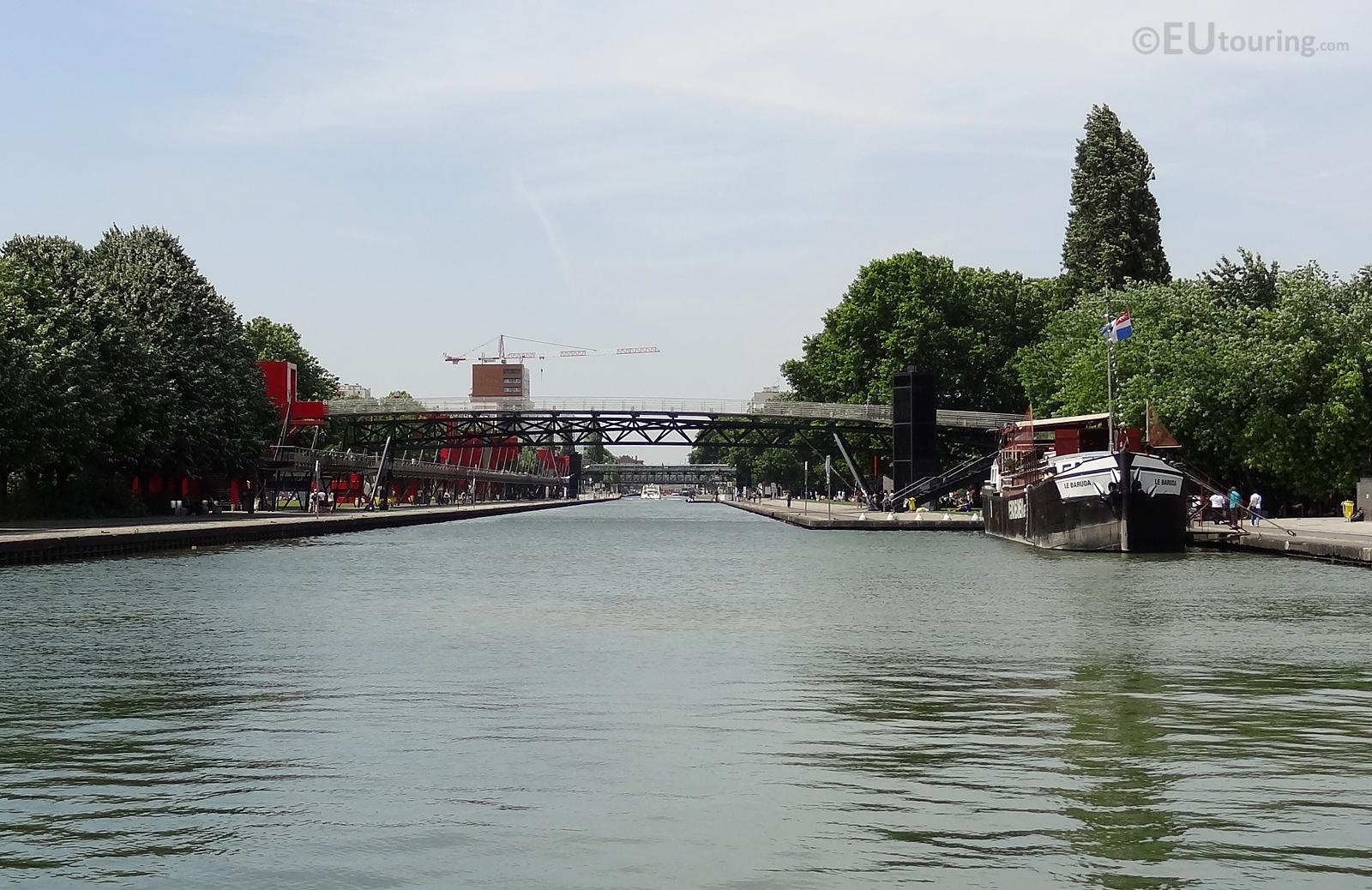 Canal de l'Ourcq and Peniche Cinema