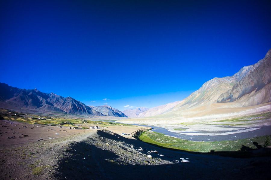Разливы реки Цараб-Лингти-Чу. Падум © Kartzon Dream - авторские путешествия, авторские туры в Индию, тревел фото, тревел видео, фототуры