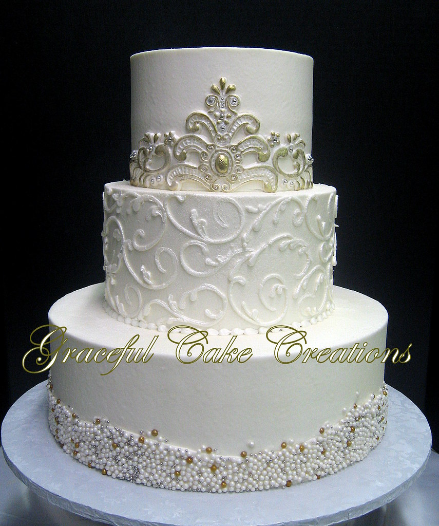 Cake Wedding White