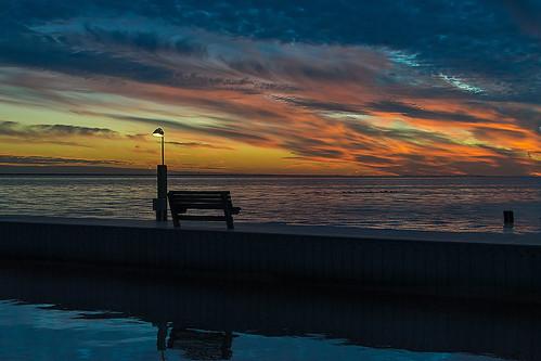 Searing Sunset