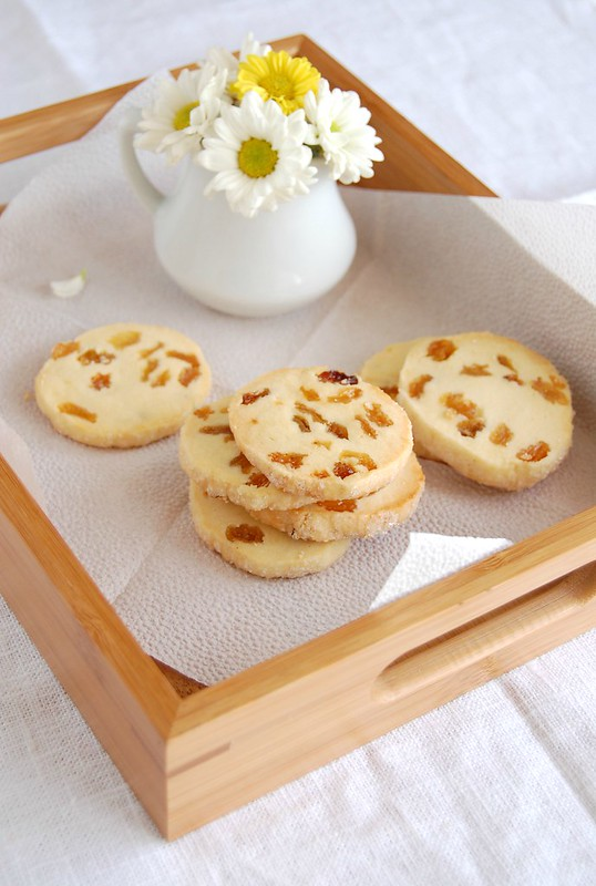 Golden raisin cookies / Biscoitos de passas claras