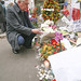 Small photo of Minister Alex White at Charlie Hebdo offices