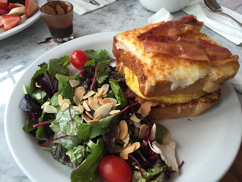 Croque Jeunne Homme at L'Amande French Bakery