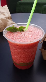 Watermelon Daquiri from Get Vegan with Jadda at Boundary Street Markets