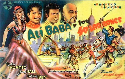 Ali Baba and the Forty Thieves - Poster 3