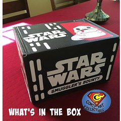 Newest episode of #what's interview is up. Head over to https://constantcollectible.com/2016/07/21/whats-in-the-box-smugglers-bounty-heads-to-jabbas-palace/ #starwars #smugglersbounty #funkopop #geekculture #constantcollectible