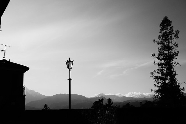 Gothic Streetlamp in Tuscany