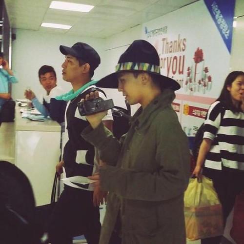 BIGBANG departure Jeju 2015-05-20 07