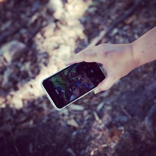Selfie móvil en #alcoba #igersciudadreal #castillalamancha #iphone