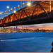 Bay Area Bridge Blue Hour by Timothy LaBranche