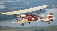 cessna 185(0.0), piper pa-18(0.0), boeing-stearman model 75(0.0), cessna 150(0.0), stampe sv.4(0.0), royal aircraft factory b.e.2(0.0), cessna o-1 bird dog(0.0), aviation(1.0), biplane(1.0), airplane(1.0), propeller driven aircraft(1.0), wing(1.0), vehicle(1.0), light aircraft(1.0), polikarpov po-2(1.0), flight(1.0), ultralight aviation(1.0),