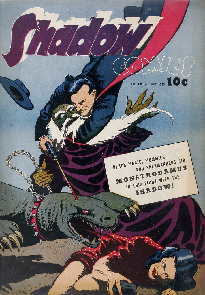 Shadow Comics V3#4 Mile High pedigree (Street & Smith, 1943)