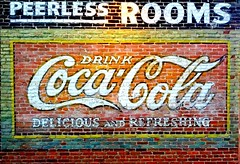 Coca Cola Delicous and Refreshing