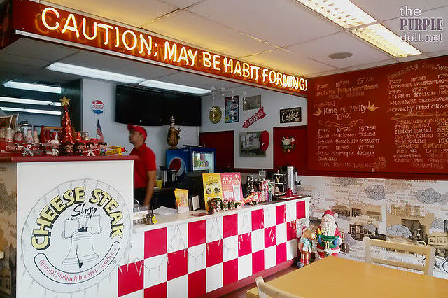 Chinoy Charts The Cheesesteak Shop