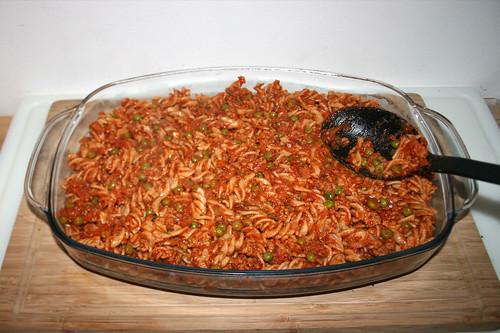 46 - Restliche Nudeln addieren / Add remaining noodles