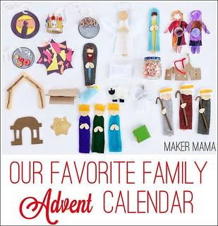 Our Favorite Family Advent Calendar