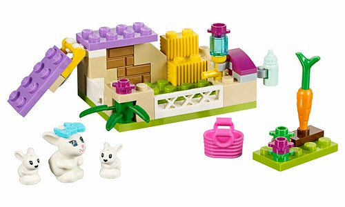 LEGO Friends 41087 Bunny and Babies 00
