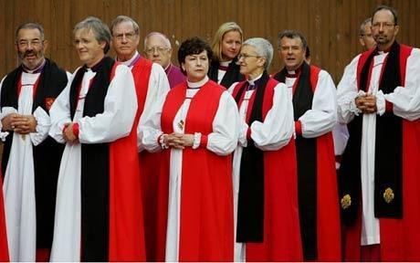 Clérigos anglicanos