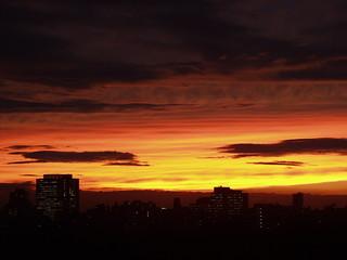 Sunset in Tokyo