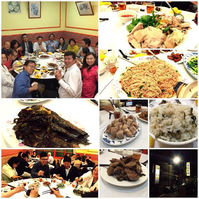 BNI長勝分會聚餐@上海隆記菜飯